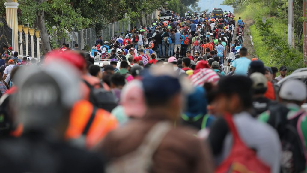 New migrant caravans from Central America headed toward US-Mexico border