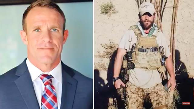 """Navy SEAL Charged With War Crimes Moved to """"Less Restrictive confinement"""" by Trump"""