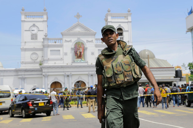 Despicable Acts of Terror in Sri Lanka