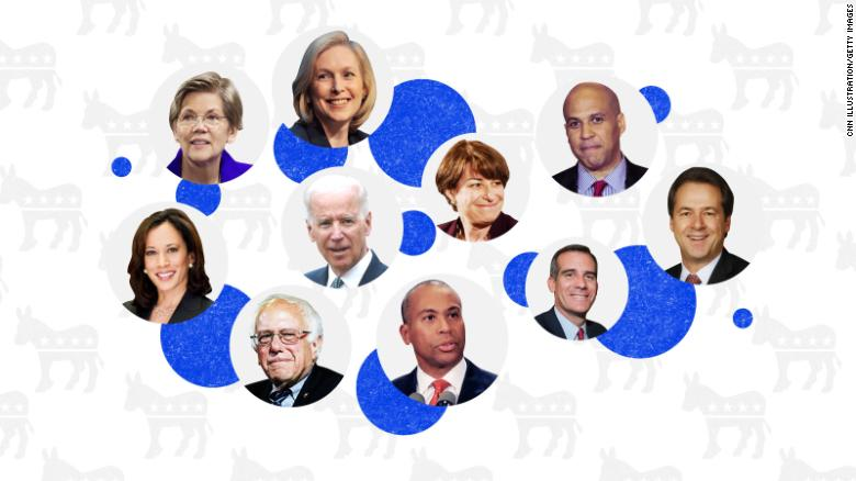 Democrats' large field can be an advantage