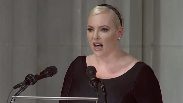 Meghan McCain Tells Klobuchar to Stop Quoting Her Father