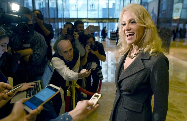 Kellyanne Conway the latest target of Democrat resignation-itis