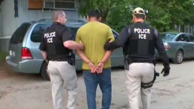 ICE Has Commenced The Raid