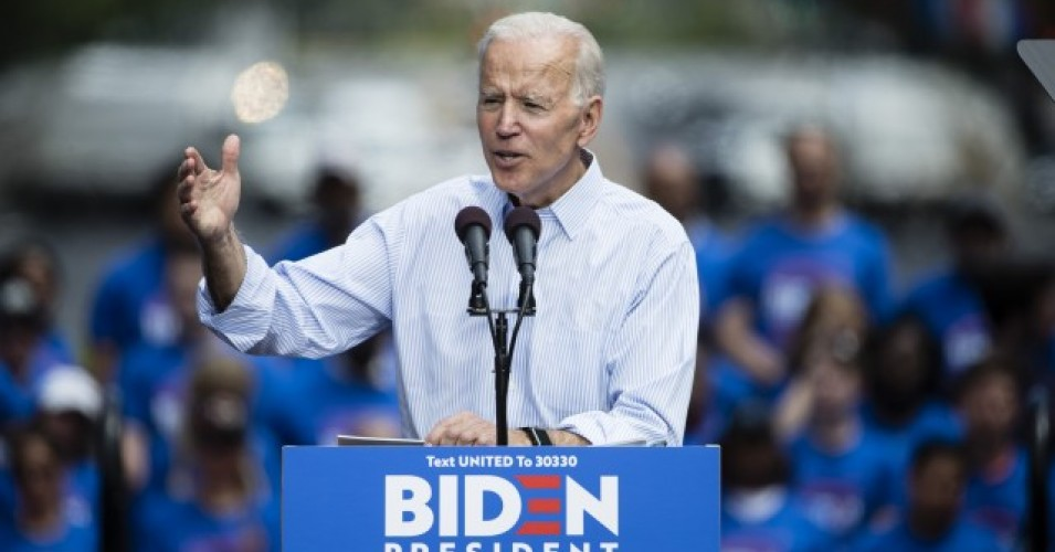 Biden looks good if you don't look too closely