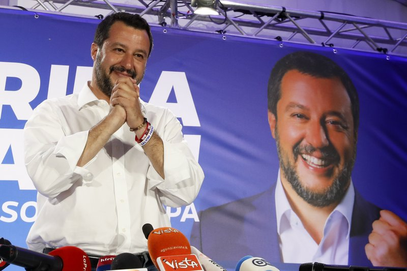 Nationalist-populist movement in Italy takes an enormous blow