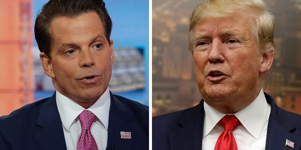 War of Words Continues Between Trump and Scaramucci