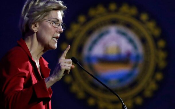 Warren on the move