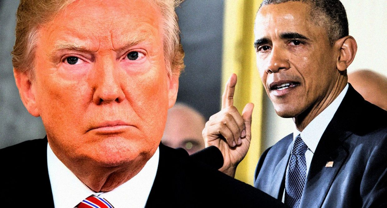 Obama Mistakenly Points Finger At Trump For Mass Shooting