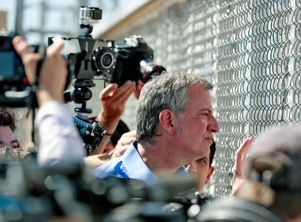 De Blasio Thinks He Can Build A Better Wall?