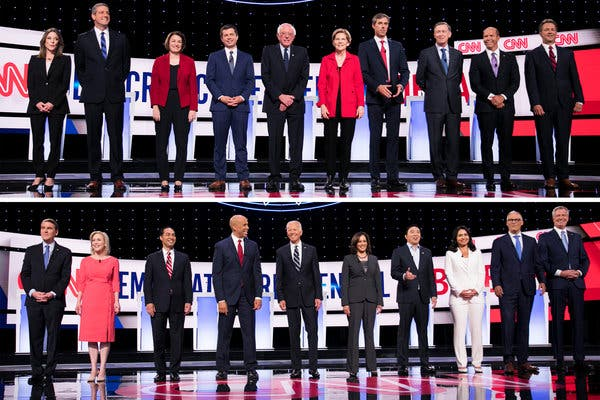 Democrats All Over Each Other in Latest 2020 Debate