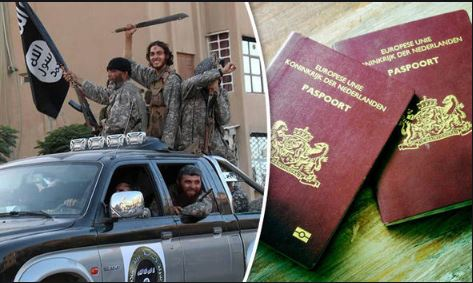 Jihadists Receive Their Dutch Passport Back