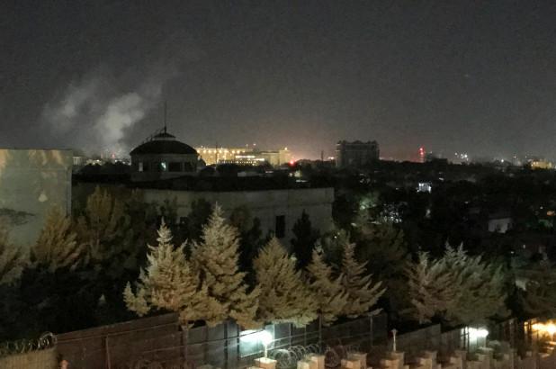 Stunning Rocket Attack On US Embassy During 9-11 Anniversary