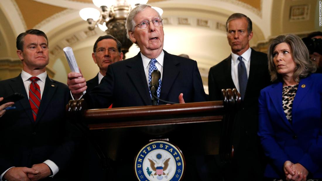 GOP Leaders Say Quick Dismissal of Impeachment In Senate Would Be a Mistake
