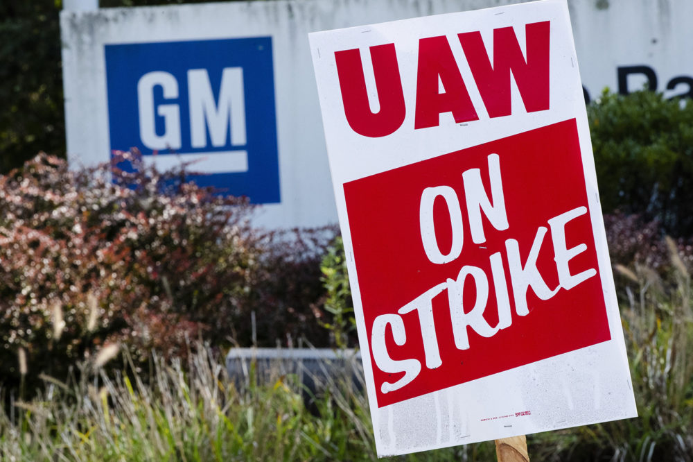 In case you haven't notice … GM workers are still on strike