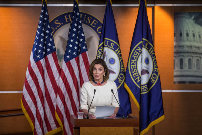 Pelosi: No one comes to Congress to impeach the President