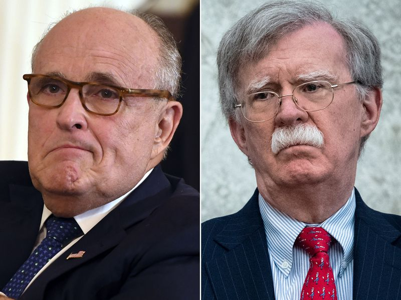 Giuliani At Odds With Boltan
