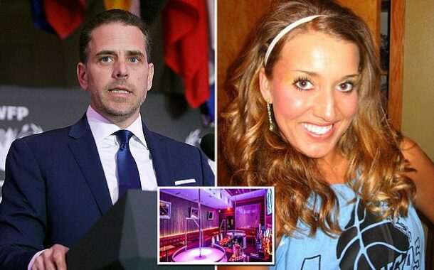 Hunter Biden Is Stripper's Baby Daddy!