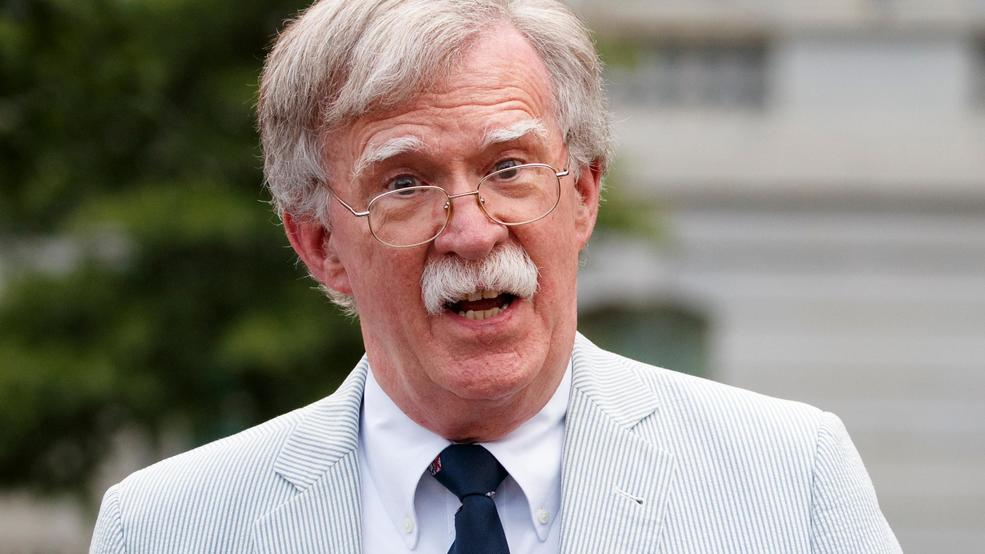 Trump Adamant That Bolton Will Not Testify