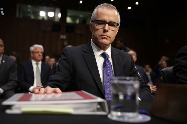 McCabe Admits To Lying About Media Leaks