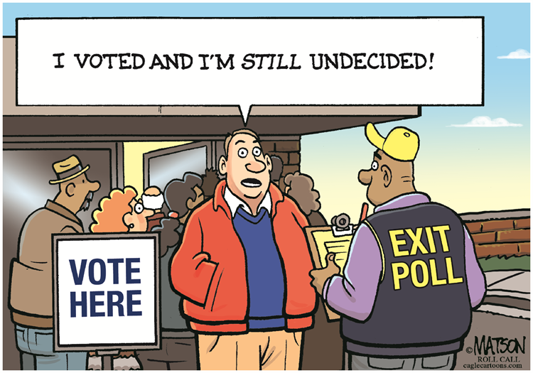 Why we believe in polls … and should not