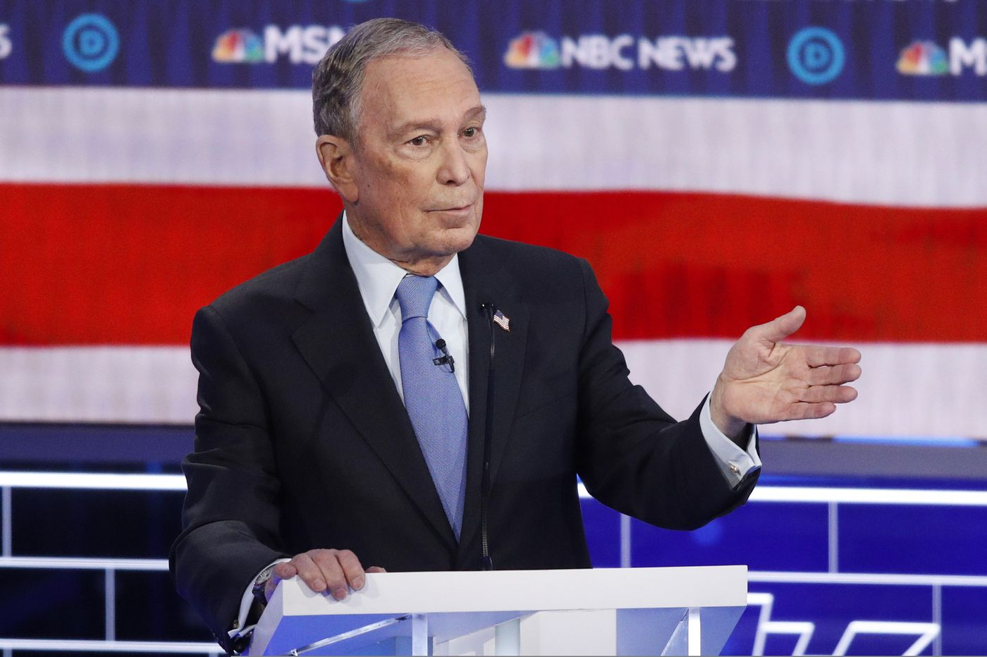 Bloomberg Stumbled During First Democratic Debate