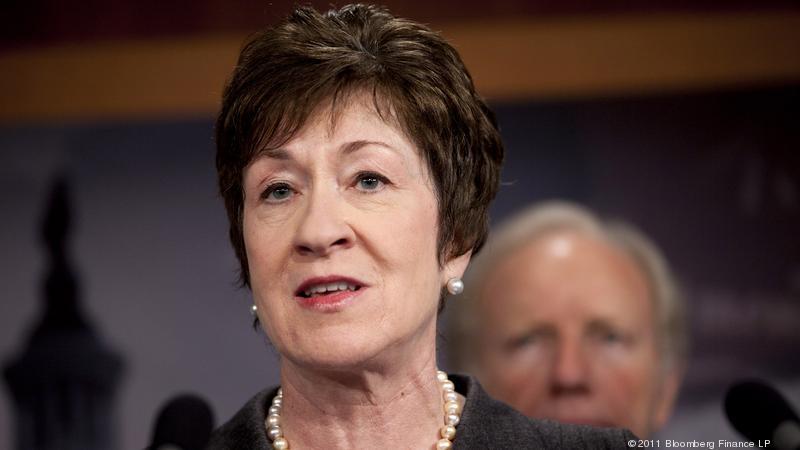 Susan Collins … a future former U.S. Senator?