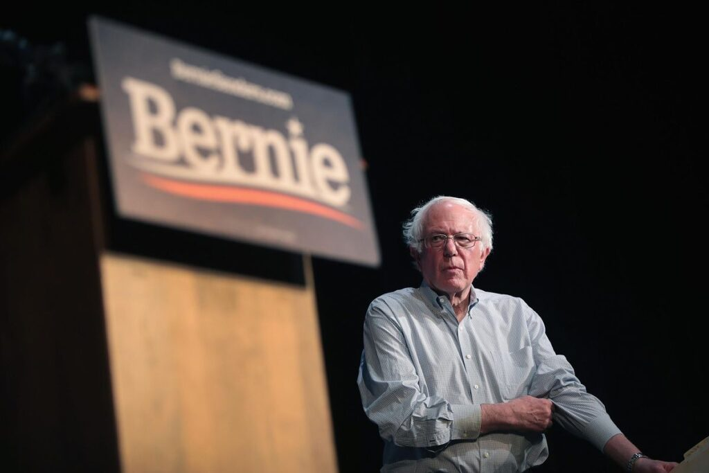 Young people favor an old socialist for President?
