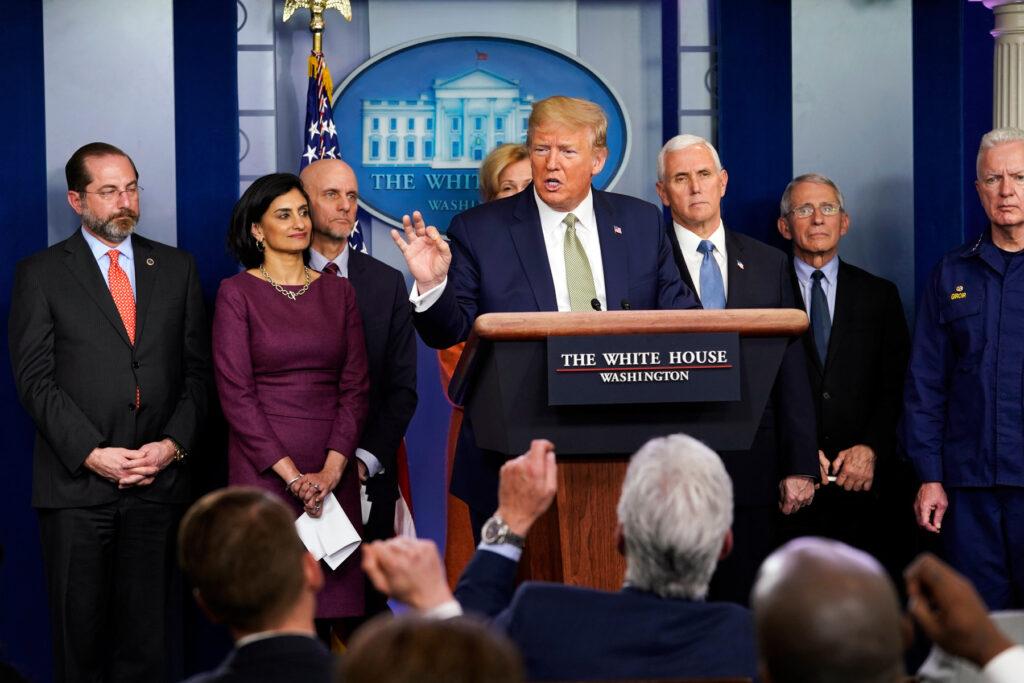 White House Proposes Massive Coronavirus Stimulus