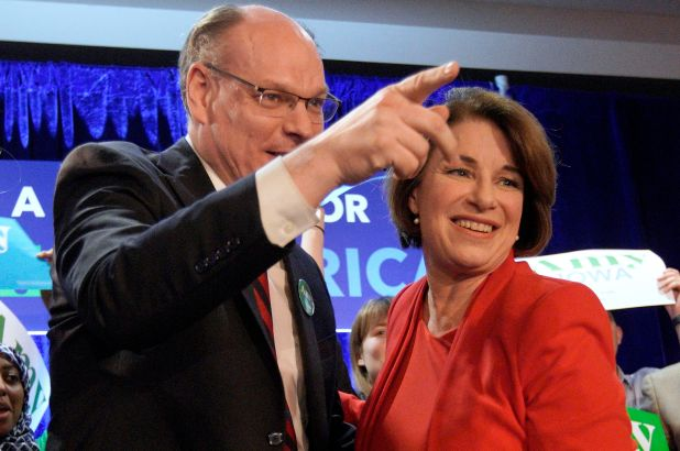Sen. Amy Klobuchar's Husband Hospitalized With Coronavirus!