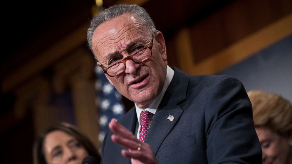 Trump Says There Will Be Trouble for Chuck Schumer