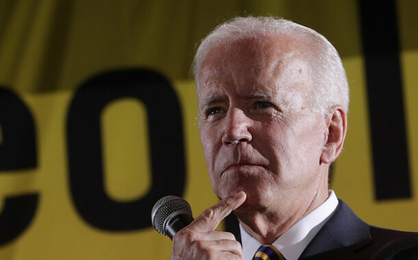The amazing disappearing Biden