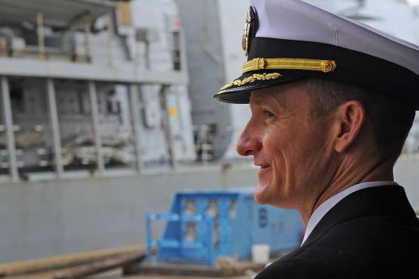 Commanding Officer of COVID-19 Infected Navy Ship Relieved of Duty