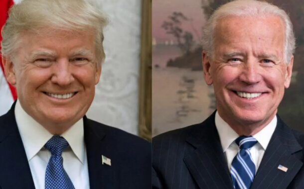 Trump kicks off week with Biden broadside: 'He's weak & shot!'