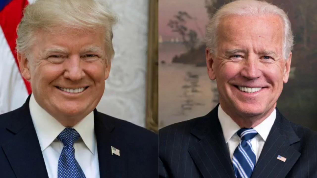 Trump kicks off week with Biden broadside: 'He's weak & shot!'
