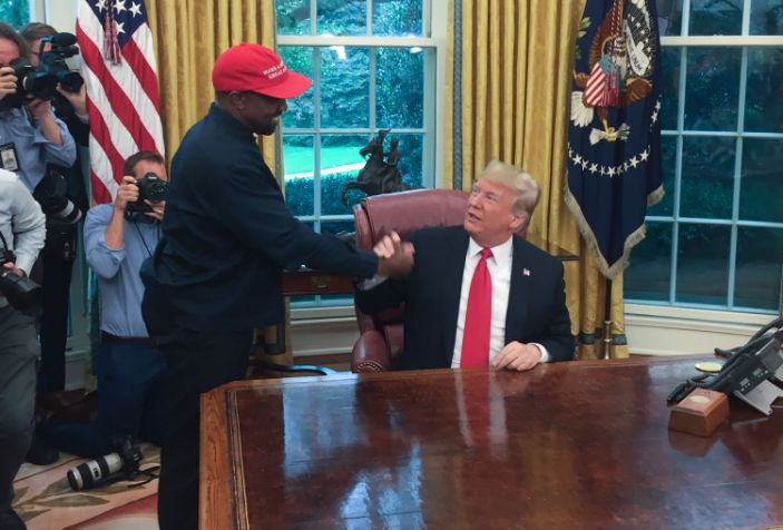 Is Kanye West running for president? Probably not.