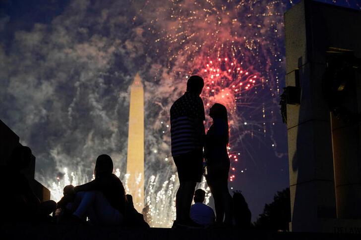 Soaring U.S. coronavirus cases, hospitalizations overshadow July 4 celebrations