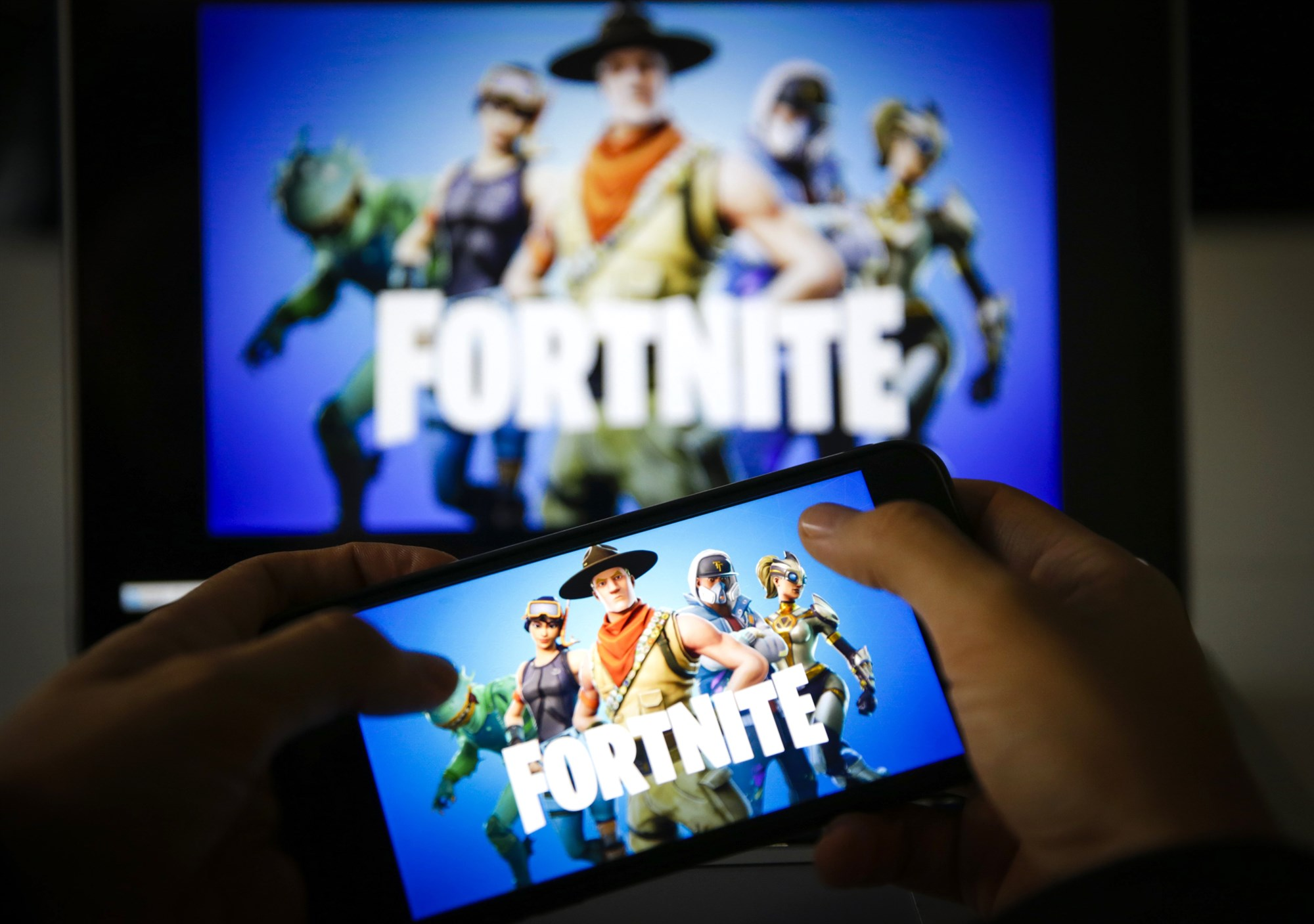'Fortnite' conquered the video game world. Now, it's taking on Google and Apple.
