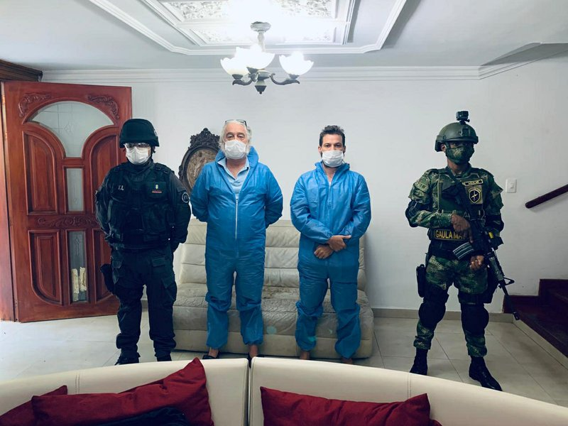 Colombia arrests US men accused of selling fake COVID cure