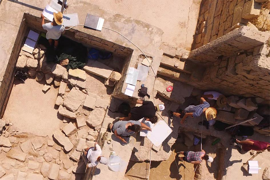 Roman Temple Discovered Under a Farmhouse in Malta