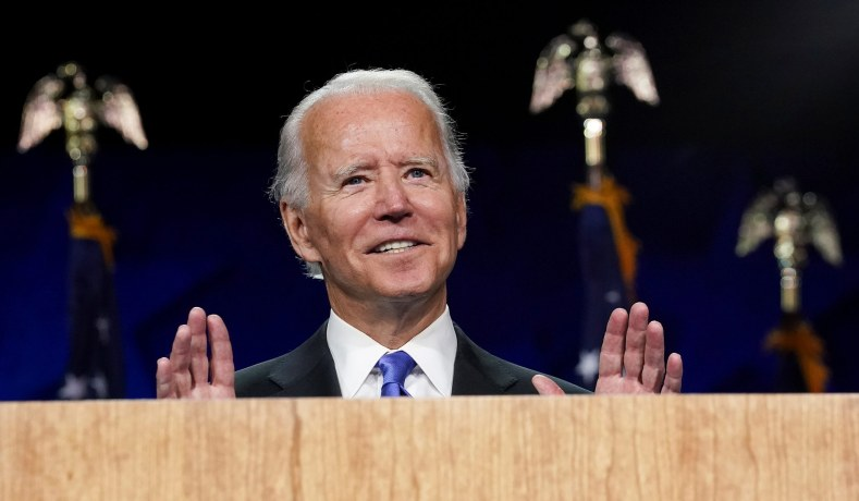 Democrats Strain to Depict Biden as a Moderate