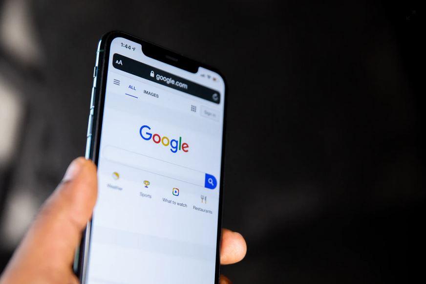 Google Opened On Iphone