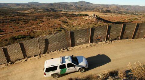 US Border Patrol Car