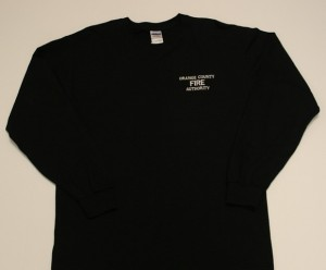 Long Sleeve Wildland Shirt (black)