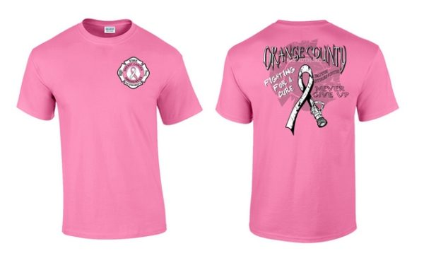 Breast Cancer Awareness Shirt Men's Cut
