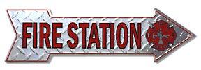 Fire Station Arrow