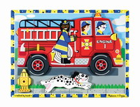 Chunky Fire Truck Puzzle