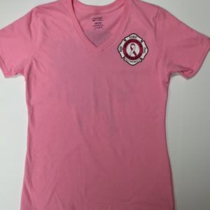 Breast Cancer Awareness Shirt Women's V-Neck Cut