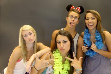 Garner Graduation Party | Raleigh Photo Booth Fun