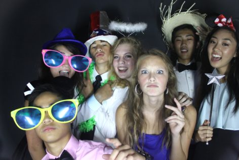 Panther Creek HS Homecoming 2014 – Photo Booth Rental
