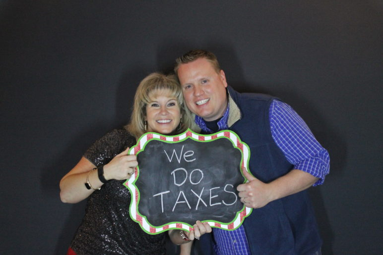Coppus Christmas Party Photo Booth Rental Raleigh